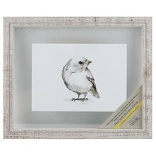 "White Alexandria Wooden Frame By Studio Decor, 8"" x 10"""